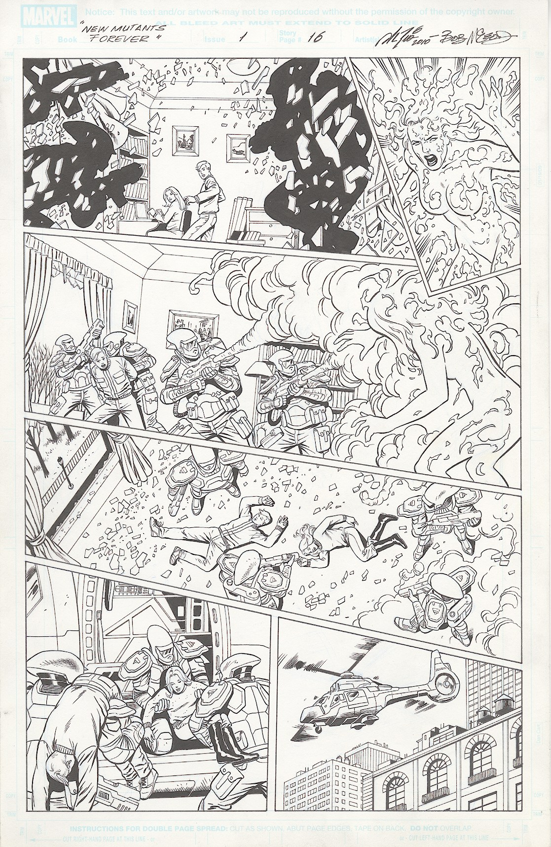 New Mutants Forever #1, Page 16